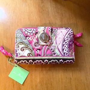 NWT Vera Bradley Turnlock Wallet